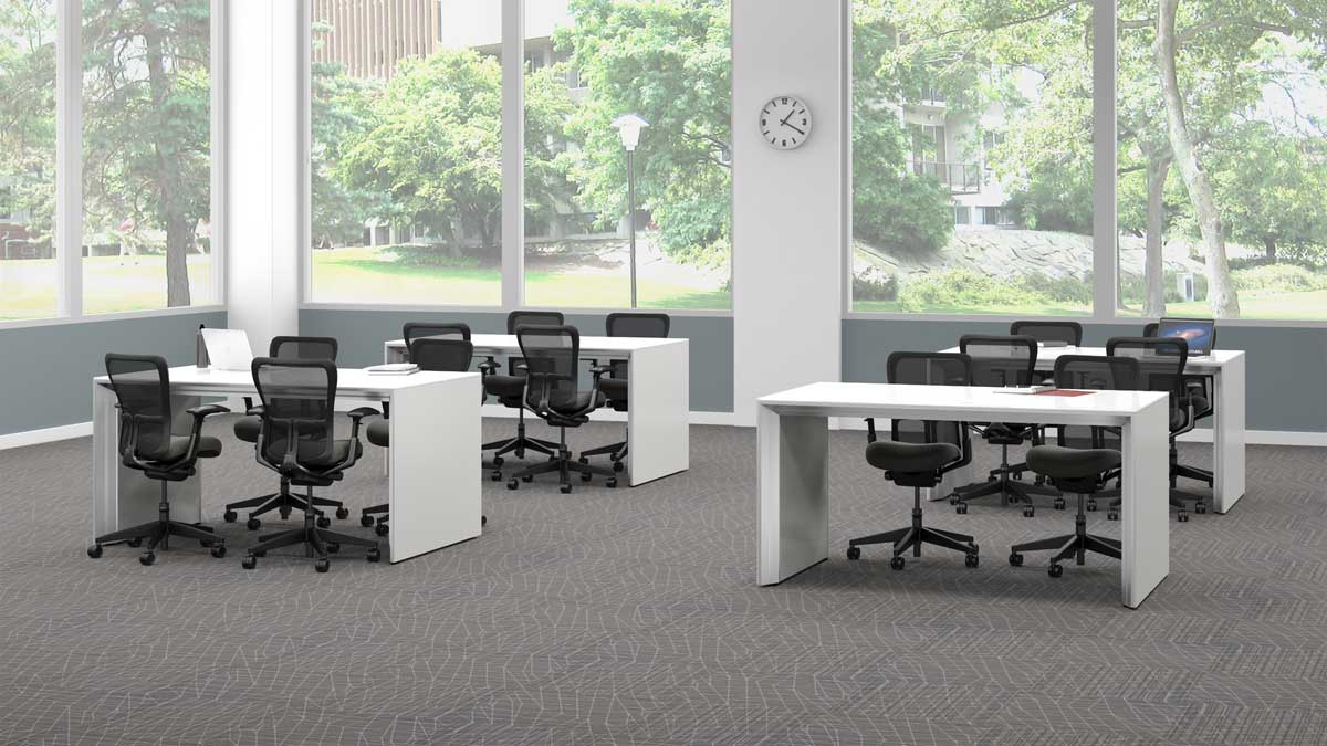 New office furniture vision office interiors for Open design furniture