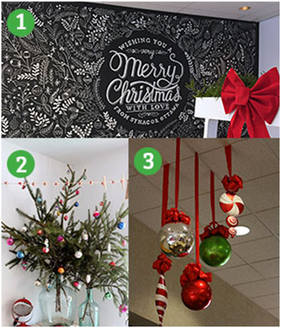 Office Decoration Ideas For The Holidays Vision Interiors